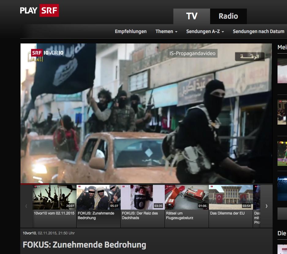 Zehn vor zehn: «Immer mehr Frauen aus der Schweiz werden von solchen Bildern angezogen»